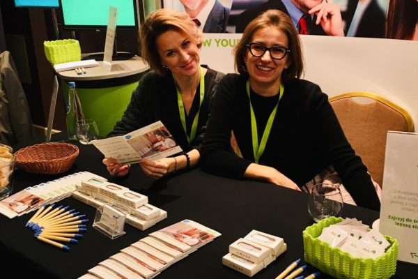 Izabella and Gosia at HR Directors Summit