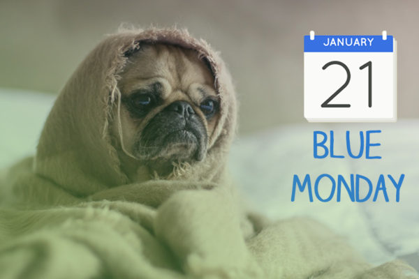 Blue Monday graphic