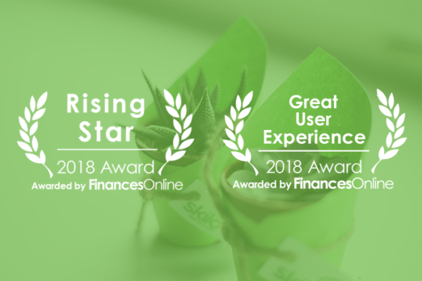 Great User Experience and Rising Star Awards