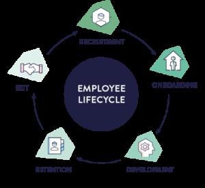 Employee Lifecycle chart